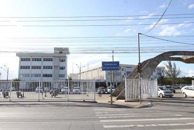 A Cidade Universitária está localizada à Rua Aloísio da Silva Gomes, 50, bairro Granja dos Cavaleiros.