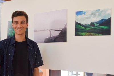 Marcos, de apenas 19 anos, vem captando registros da cidade desde 2017