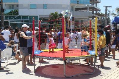 Entre as atrações estão piquenique, animação infantil, corrida kids, futmesa, minifutebol e outras atividades