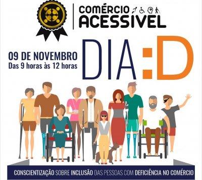 Na oportunidade, instituições ligadas a pessoas com deficiência estarão participando, em diversas apresentações: