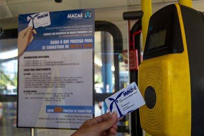 Quem não possui o Cartão Macaé paga o valor integral da passagem que é de R$ 3,05