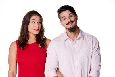 Priscila Fantin e Bruno Lopes apresentam uma comédia romântica neste sábado, 1.