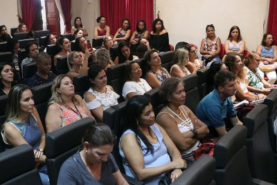 """O evento contou, ainda, com apresentação do projeto """"Contos e Cantos""""."""
