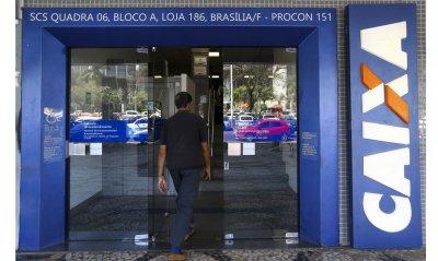 As agências da Caixa Econômica Federal ficarão abertas neste sábado (2), das 8h às 12h