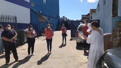 A peregrinação passou por bairros como Novo Visconde, Centro, Cavaleiros, Virgem Santa, Cajueiros e outros locais
