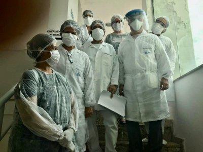 As equipes trabalham dentro das orientações de biossegurança do Ministério da Saúde e do Conselho Federal de Odontologia