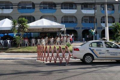 O mutirão de testes em massa para Covid-19 teve início no dia 17 de junho, no bairro Parque Aeroporto. Entre os dias 17 e 19, a equipe da Secretaria de Saúde fez 1.597 testes, sendo 80 reagentes positivos.