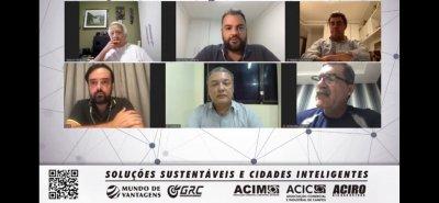 O CEO da GRC Ambiental, Thales Andrade, vem realizando eventos virtuais com agentes transformadores da sociedade para debater sobre Métodos da Sustentabilidade, Economia Colaborativa, Impacto Ambiental, Mundo de Vantagens, entre outros assuntos que r
