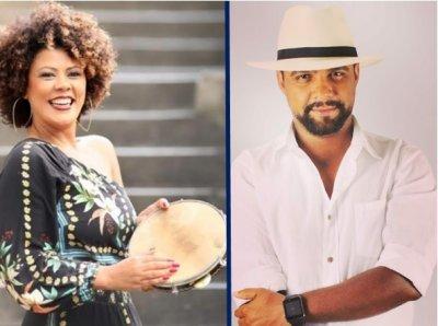 Andréa Martins e Ricardo Badaró levam alegria através das lives