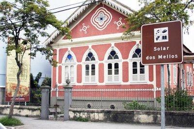 Museu Solar dos Mellos é voltado para a pesquisa, preservação e divulgação da memória da cidade