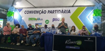 Foi nessa sinergia que aconteceu a Convenção Partidária Municipal, homologando a chapa encabeçada por Silvinho Lopes (Democratas) e Marcelo Merrel (PL),