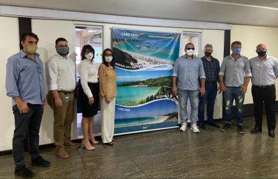 Grupo de Trabalho ABC do Sol, formado por iniciativas pública e privada, formaliza Protocolo de Intenções  para movimentar Aeroporto de Cabo Frio