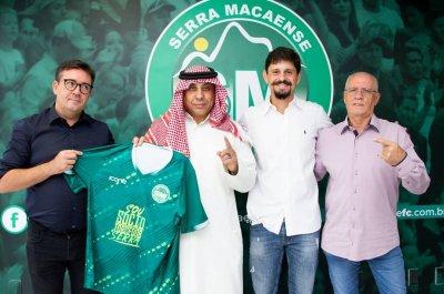 Dirigentes do Verdão receberam a comitiva do Sultan Sayed Mohamed Mohamed Elsayed, que veio de Dubai