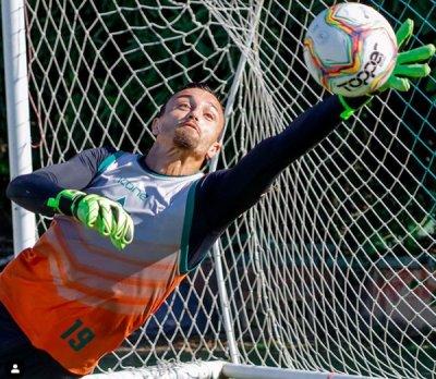 Goleiro Jonathan atuou no Leão no último Campeonato Carioca e deverá voltar para a equipe em 2021