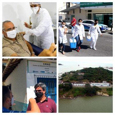 Prossegue a vacinação contra Covid-19 em Macaé