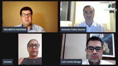 Acosta e seu blog - Por Acosta